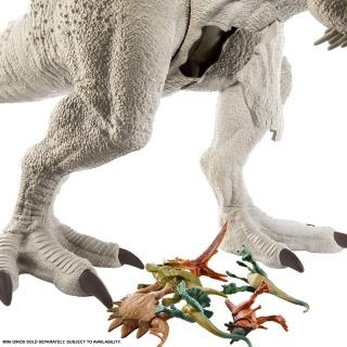 Obrázek 5 produktu Mattel Jurský svět Indominus Rex Super Colossal 95cm, GPH95