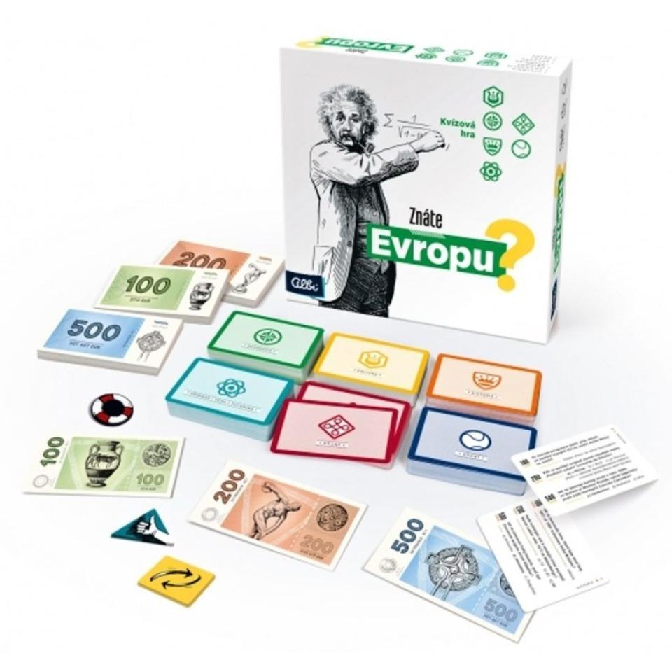 Obrázek 1 produktu Albi Znáte Evropu? kvízová hra