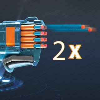 Obrázek 3 produktu NERF Elite 2.0 WARDEN DB-8 Pistole