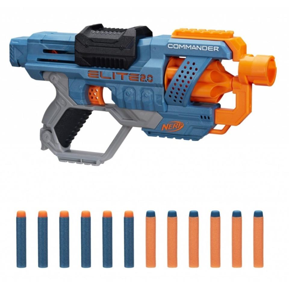 Obrázek 1 produktu NERF Elite 2.0 COMMANDER RD-6 Pistole