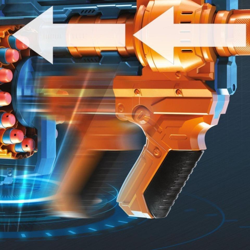 Obrázek 3 produktu NERF Elite 2.0 COMMANDER RD-6 Pistole