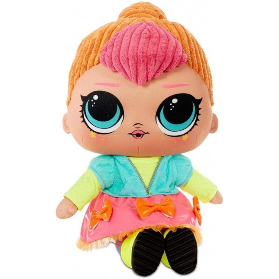 Obrázek 1 produktu MGA L.O.L. Surprise! Plyšová panenka NEON Q.T.