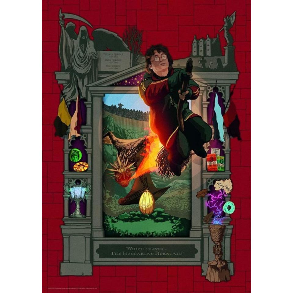 Obrázek 1 produktu Ravensburger 16518 Puzzle Harry Potter Dragon 1000 dílků