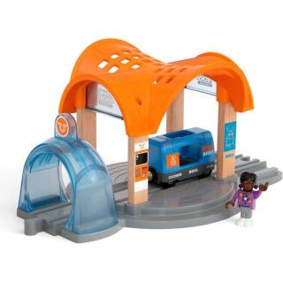 Obrázek 2 produktu BRIO 33973 Smart Tech Sound Vlaková stanice s tunelem