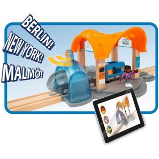 Obrázek 3 produktu BRIO 33973 Smart Tech Sound Vlaková stanice s tunelem