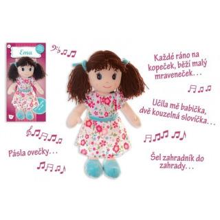 Obrázek 2 produktu Panenka Ema hadrová 40cm, česky mluvící a zpívající