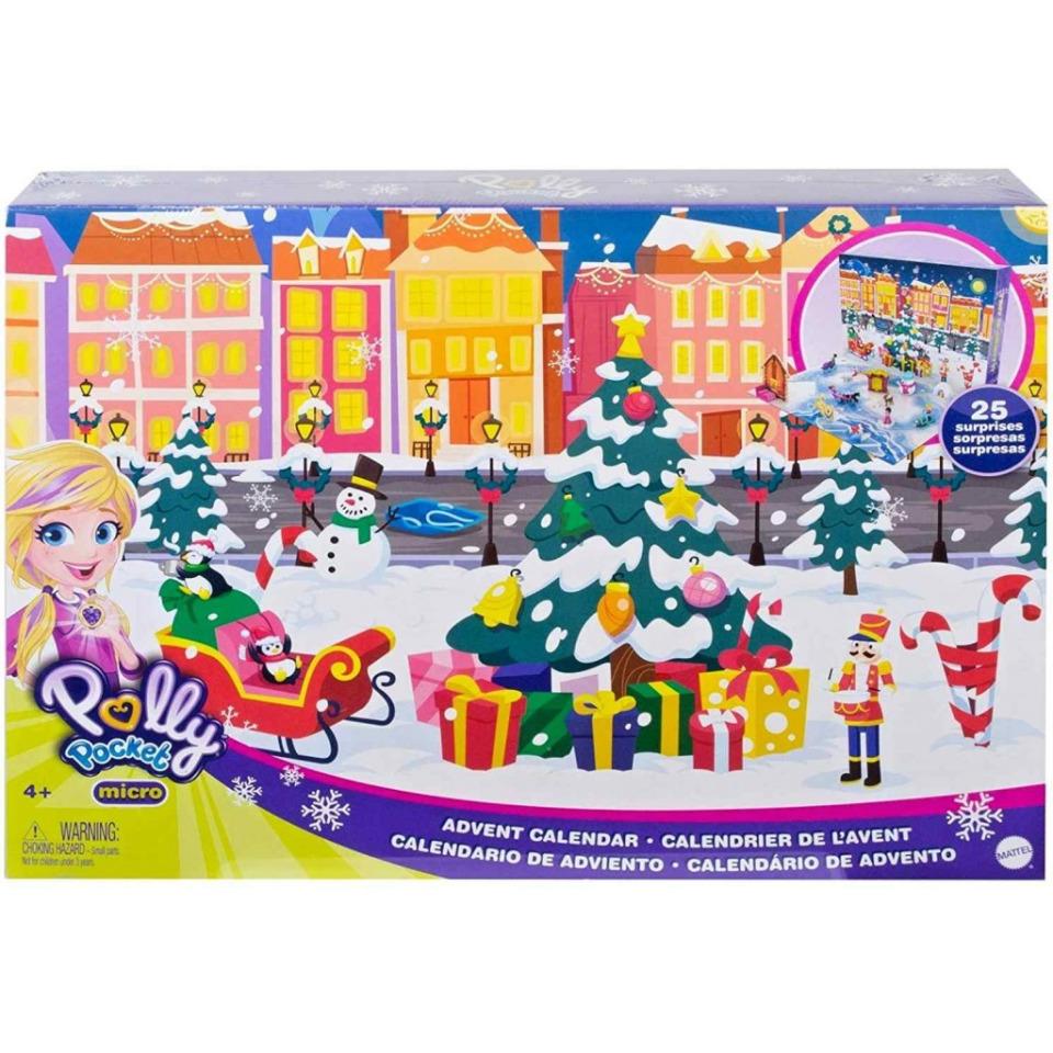 Obrázek 1 produktu Mattel Adventní kalendář Polly Pocket, GKL46