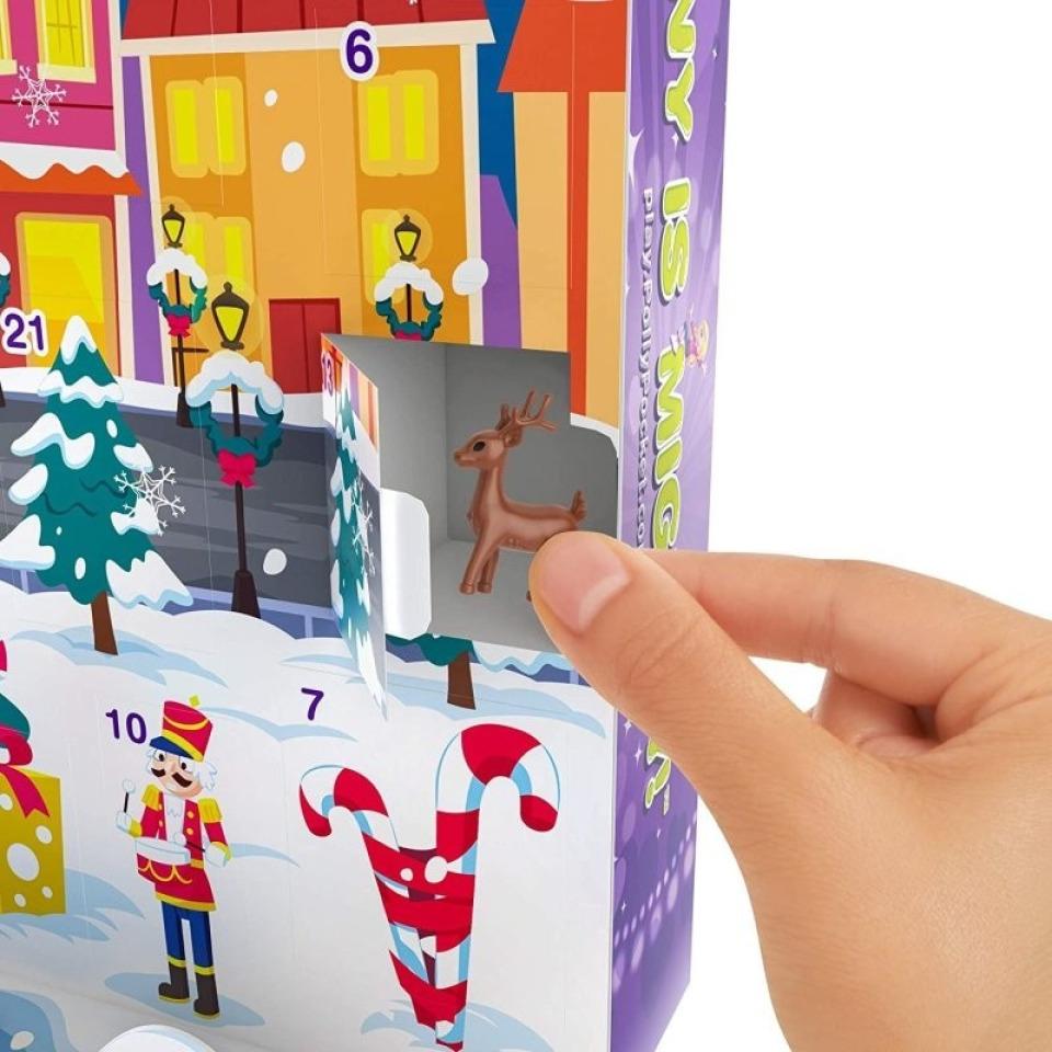 Obrázek 2 produktu Mattel Adventní kalendář Polly Pocket, GKL46