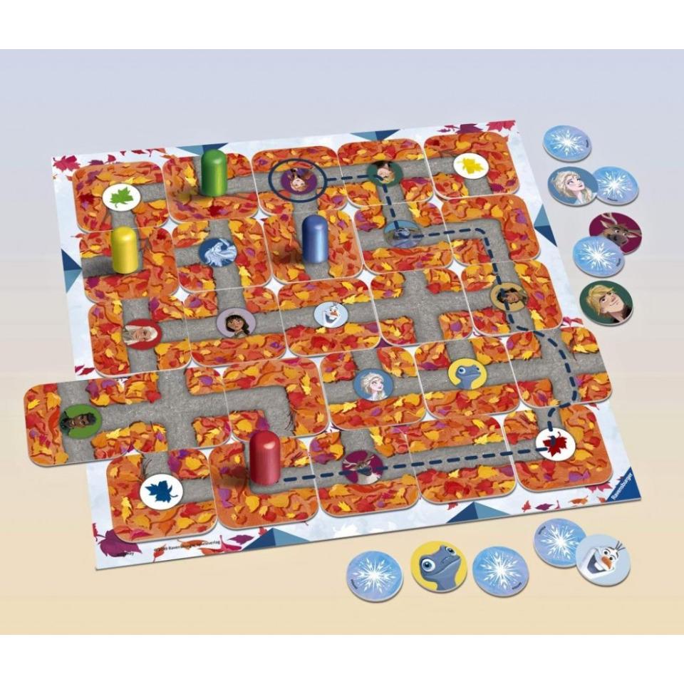 Obrázek 2 produktu Ravensburger 20499 Labyrinth Junior Disney Ledové království 2