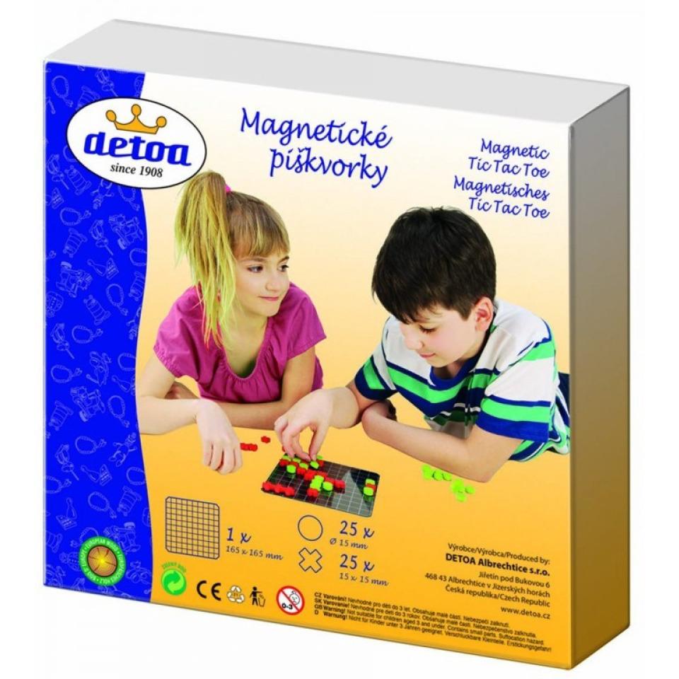 Obrázek 1 produktu DETOA Magnetické piškvorky