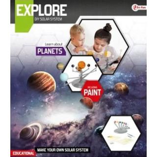 Obrázek 2 produktu Planety sluneční soustavy, vědecká hra s barvami
