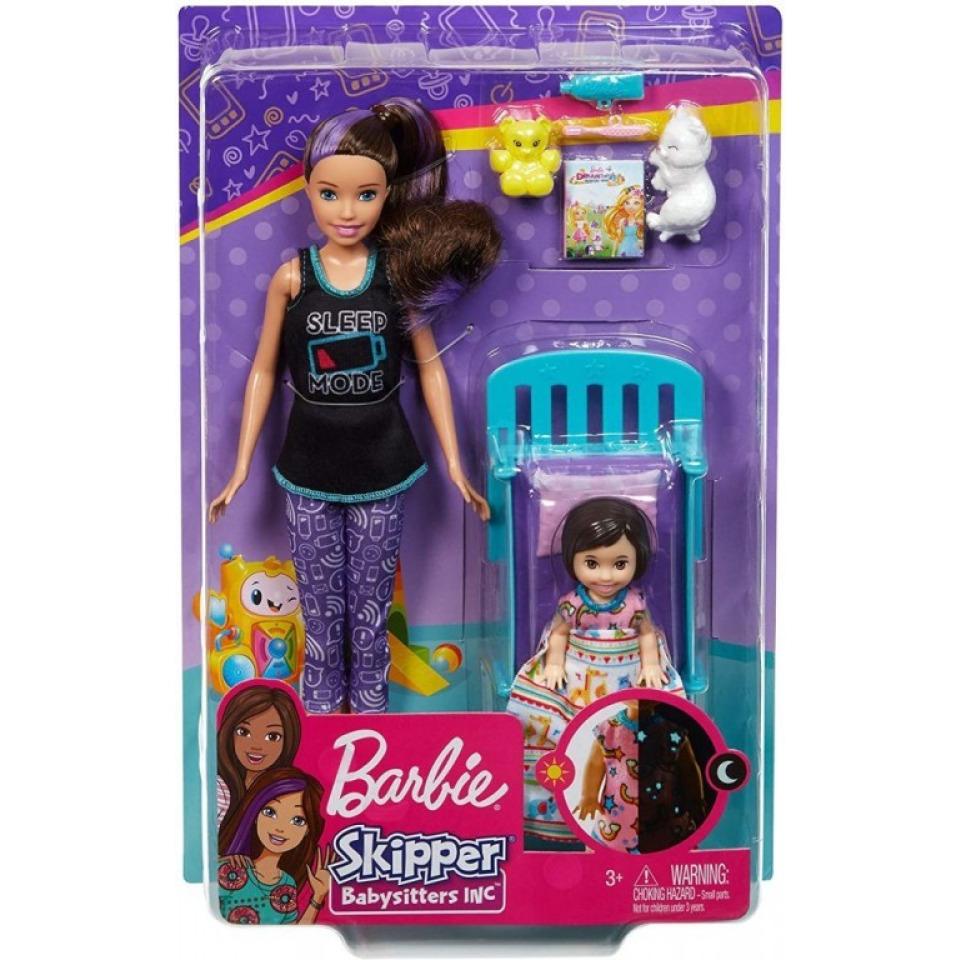 Obrázek 1 produktu Barbie Chůva herní set Sladké sny, Mattel GHV88