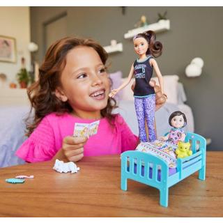 Obrázek 3 produktu Barbie Chůva herní set Sladké sny, Mattel GHV88