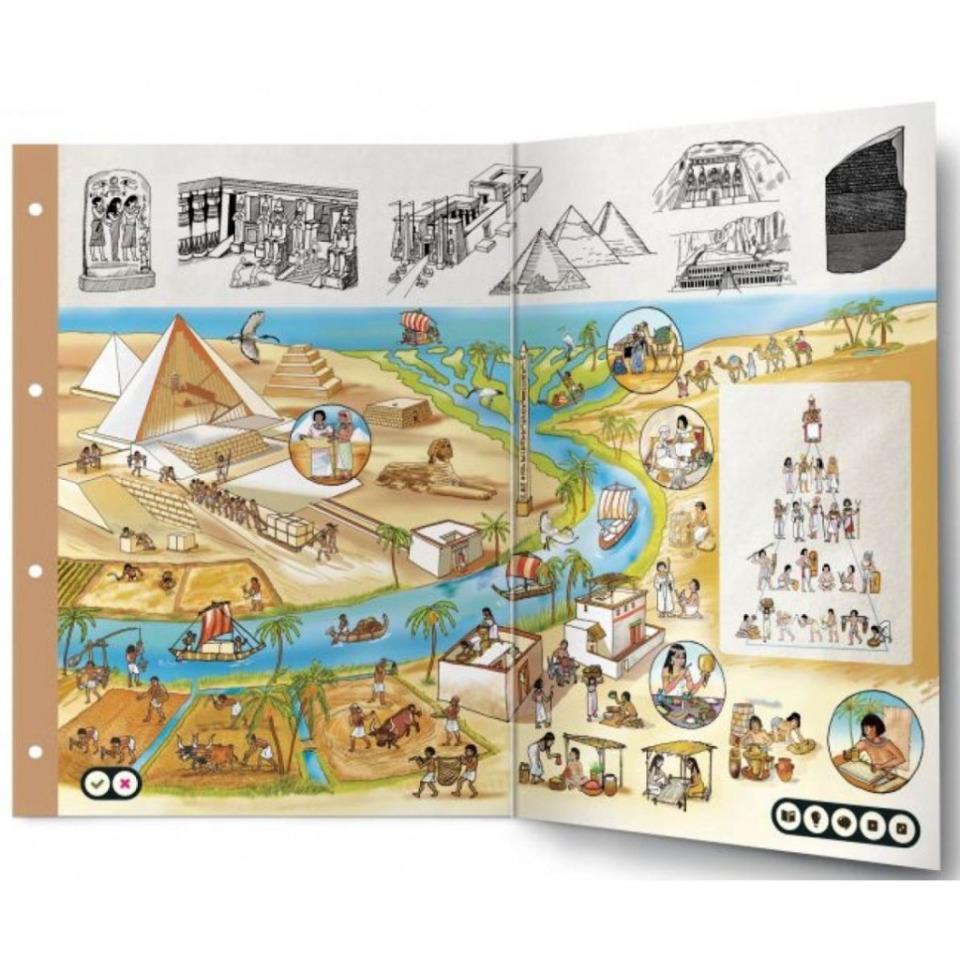 Obrázek 1 produktu Albi Kouzelné čtení Dvoulist - Starověký Egypt