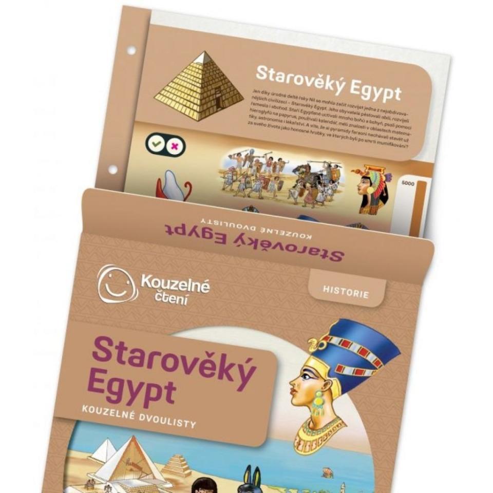 Obrázek 2 produktu Albi Kouzelné čtení Dvoulist - Starověký Egypt