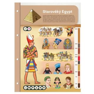 Obrázek 4 produktu Albi Kouzelné čtení Dvoulist - Starověký Egypt