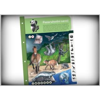 Obrázek 3 produktu Albi Kouzelné čtení Dvoulist - Savci