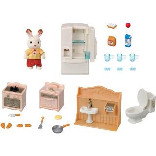 Obrázek 2 produktu Sylvanian Families 5479 Startovací set nábytku a Chocolate králičího taťky