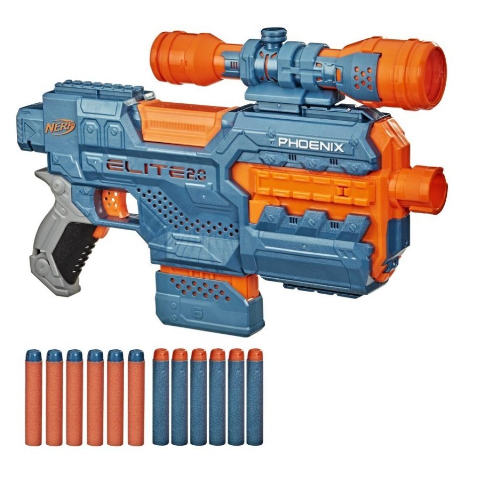Obrázek 1 produktu NERF Elite 2.0 PHOENIX CS-6 Pistole