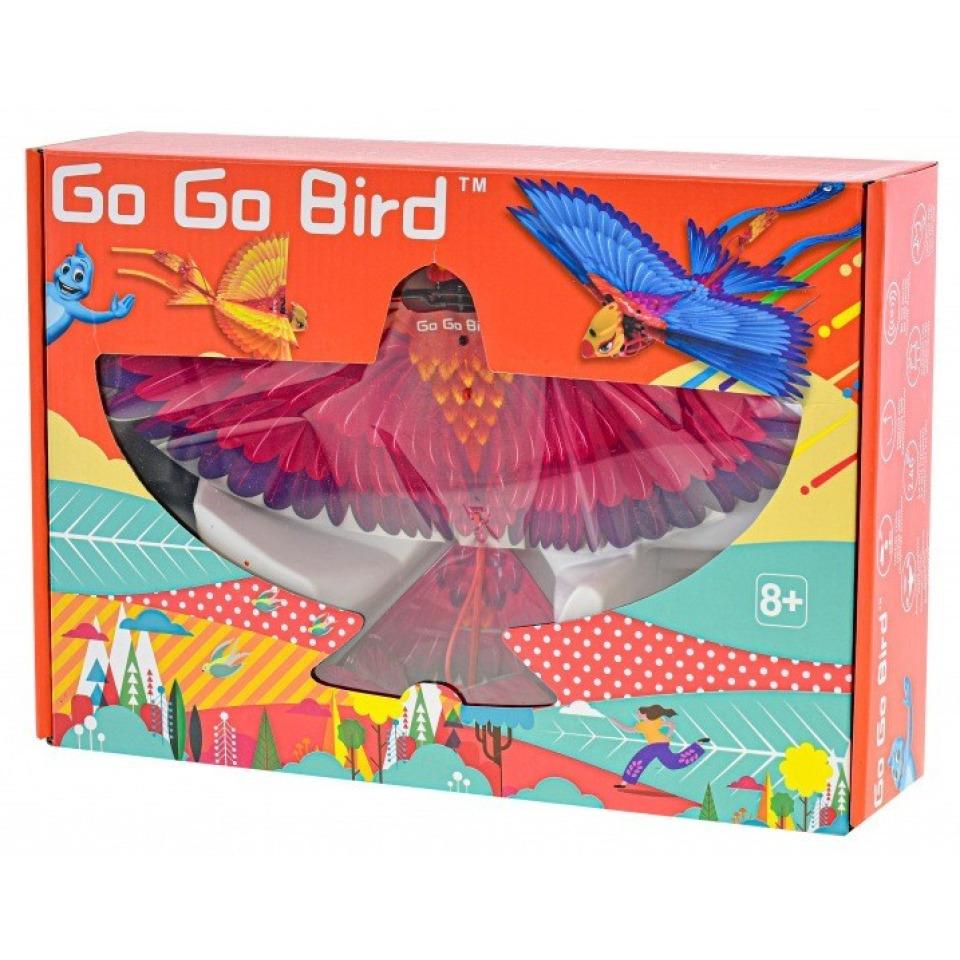 Obrázek 2 produktu R/C Go Go Bird 18 cm létající s USB fialový 2,4GHz