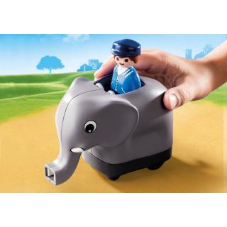 Obrázek 5 produktu Playmobil 70405 Můj tahací vláček se zvířátky (1.2.3)