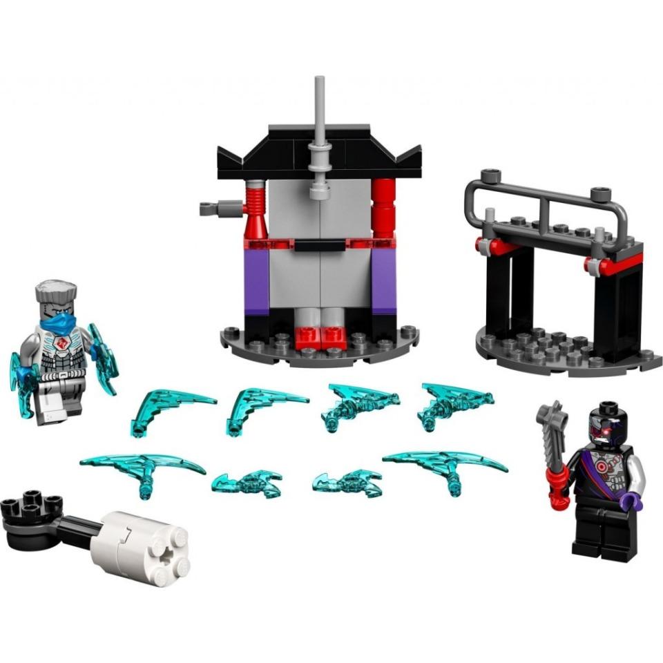 Obrázek 1 produktu LEGO Ninjago 71731 Epický souboj – Zane vs. Nindroid