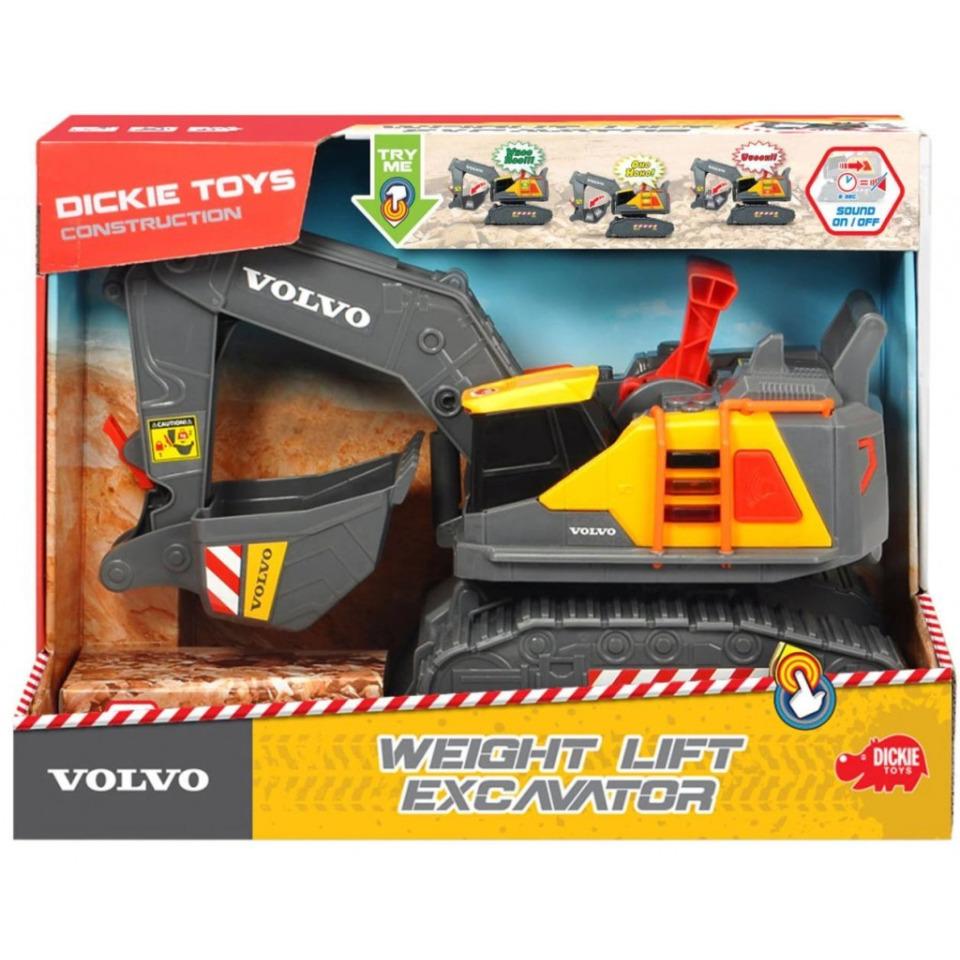 Obrázek 3 produktu Dickie Pásový bagr Volvo 30 cm