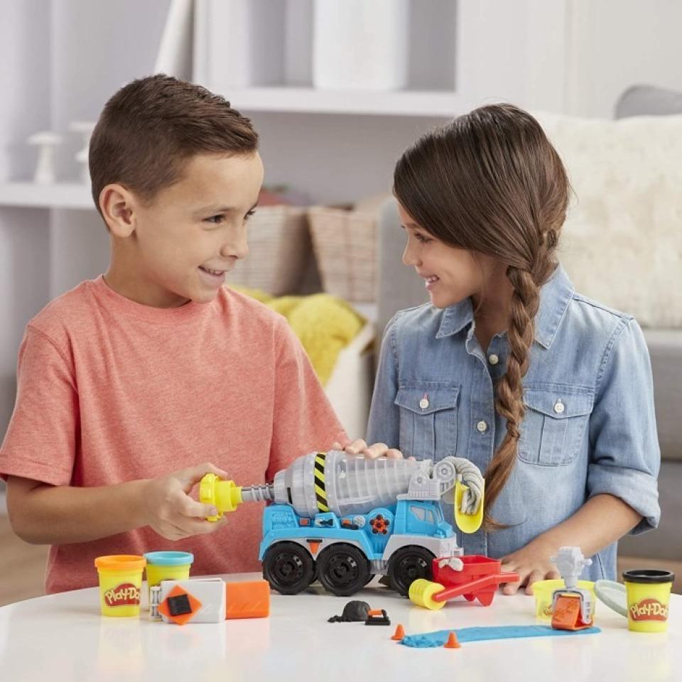 Obrázek 1 produktu Play Doh Wheels Betonová míchačka, Hasbro E6891