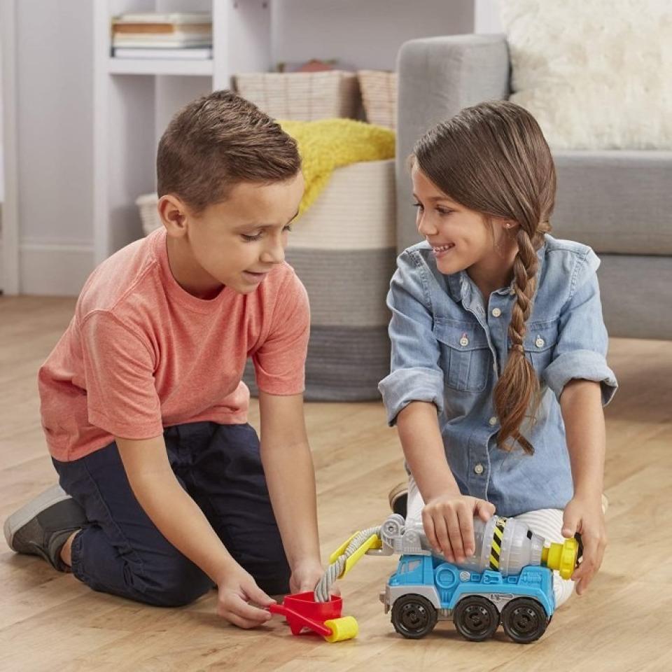 Obrázek 2 produktu Play Doh Wheels Betonová míchačka, Hasbro E6891