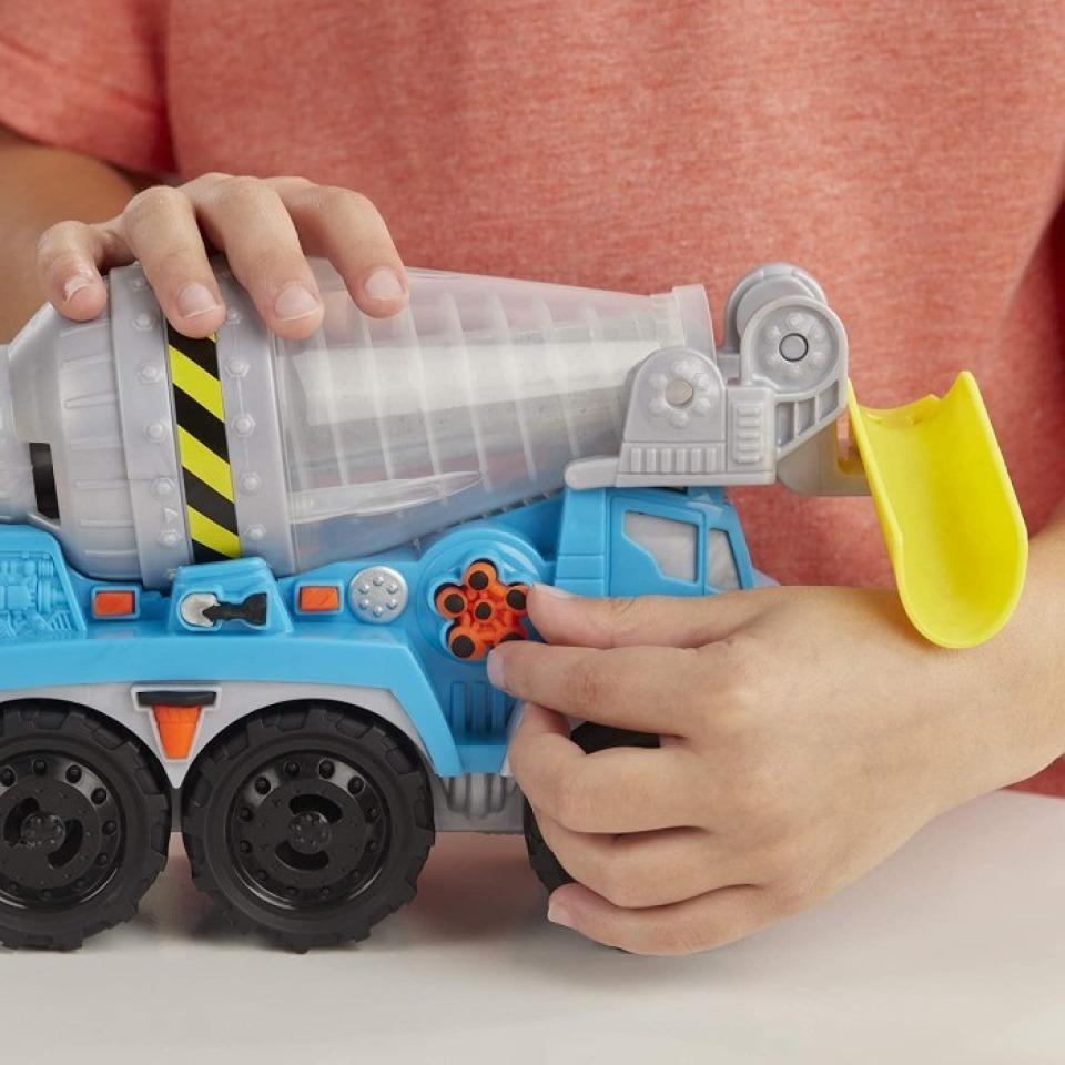 Obrázek 3 produktu Play Doh Wheels Betonová míchačka, Hasbro E6891