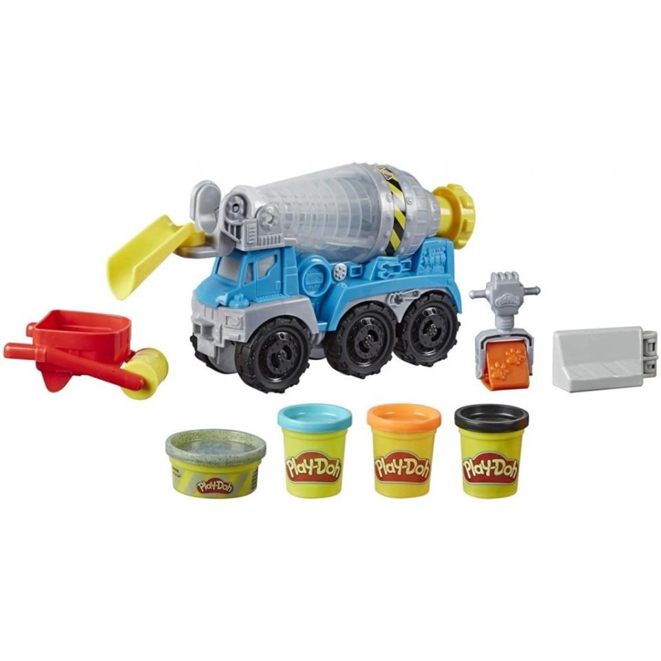 Obrázek 4 produktu Play Doh Wheels Betonová míchačka, Hasbro E6891