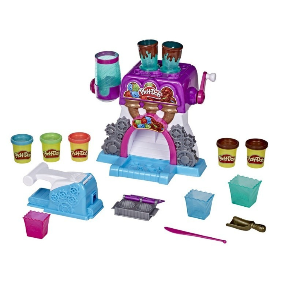Obrázek 1 produktu Play Doh Továrna na čokoládu, Hasbro E9844