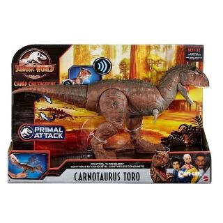 Obrázek 2 produktu Jurský svět, pohyblivý Carnotaurus TORO se zvukem, Mattel GNL07