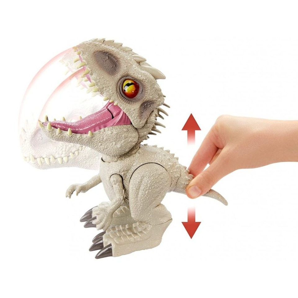 Obrázek 2 produktu Jurský svět, Hladový Indominus Rex 21 cm, Mattel GMT90