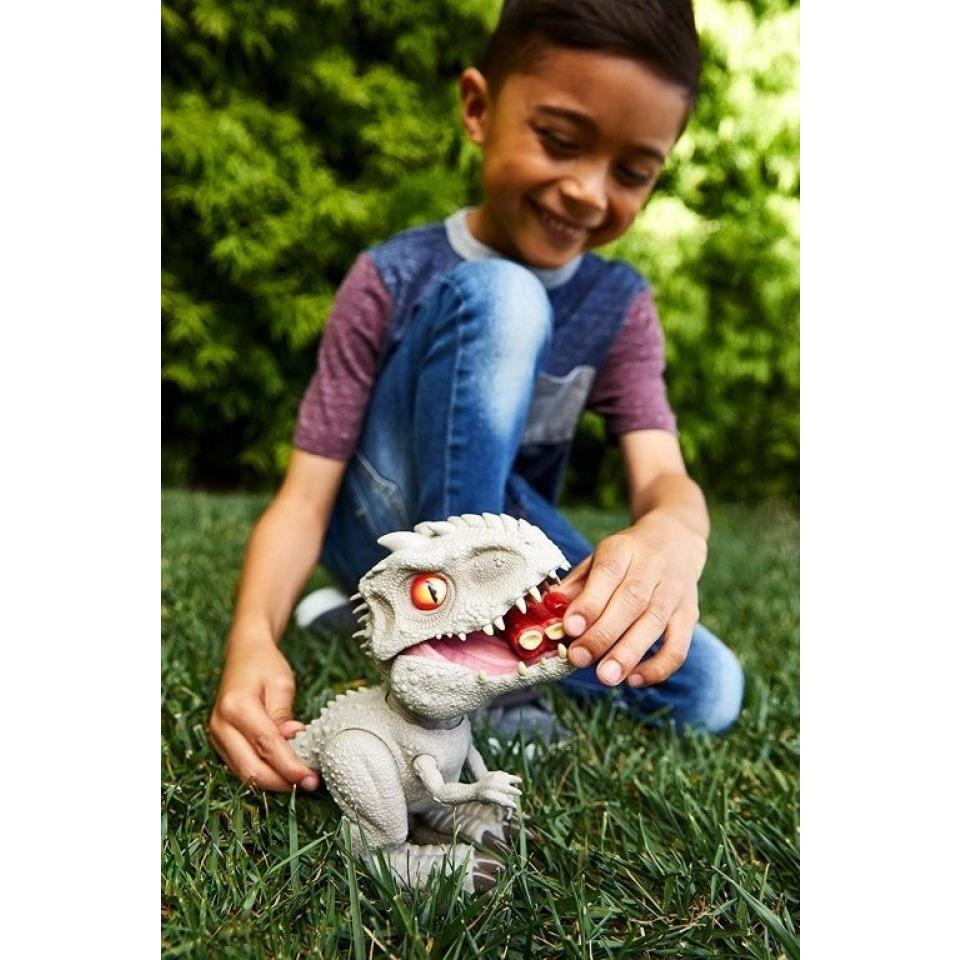 Obrázek 3 produktu Jurský svět, Hladový Indominus Rex 21 cm, Mattel GMT90