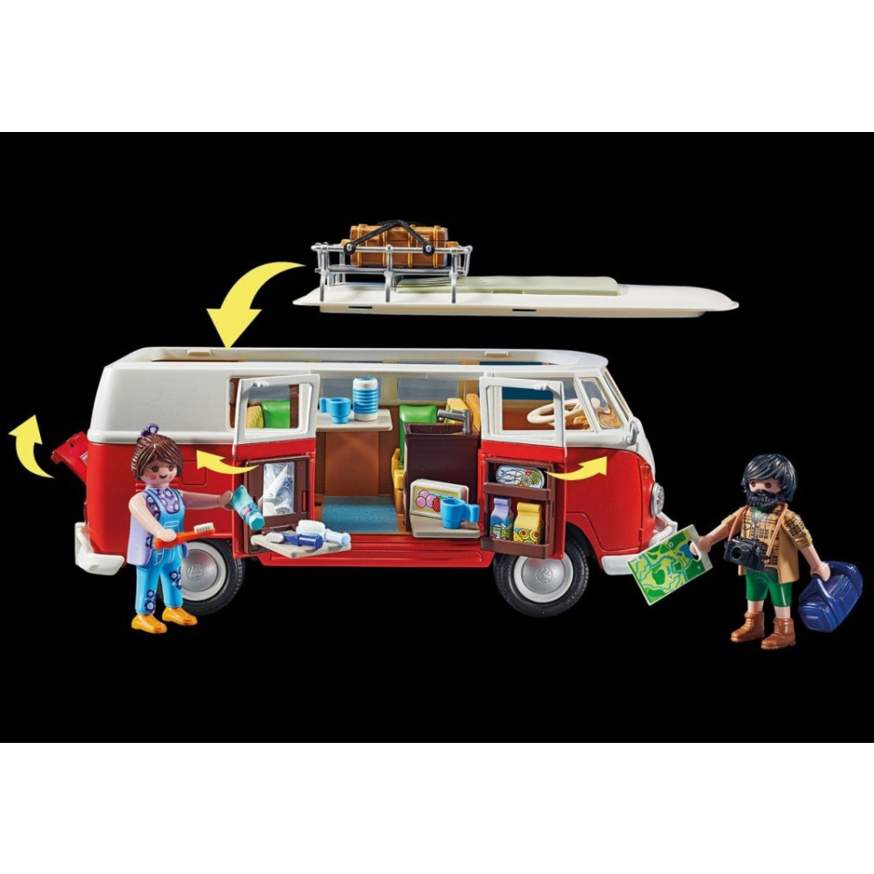 Obrázek 4 produktu Playmobil 70176 Volkswagen T1 Bulli Camper Van