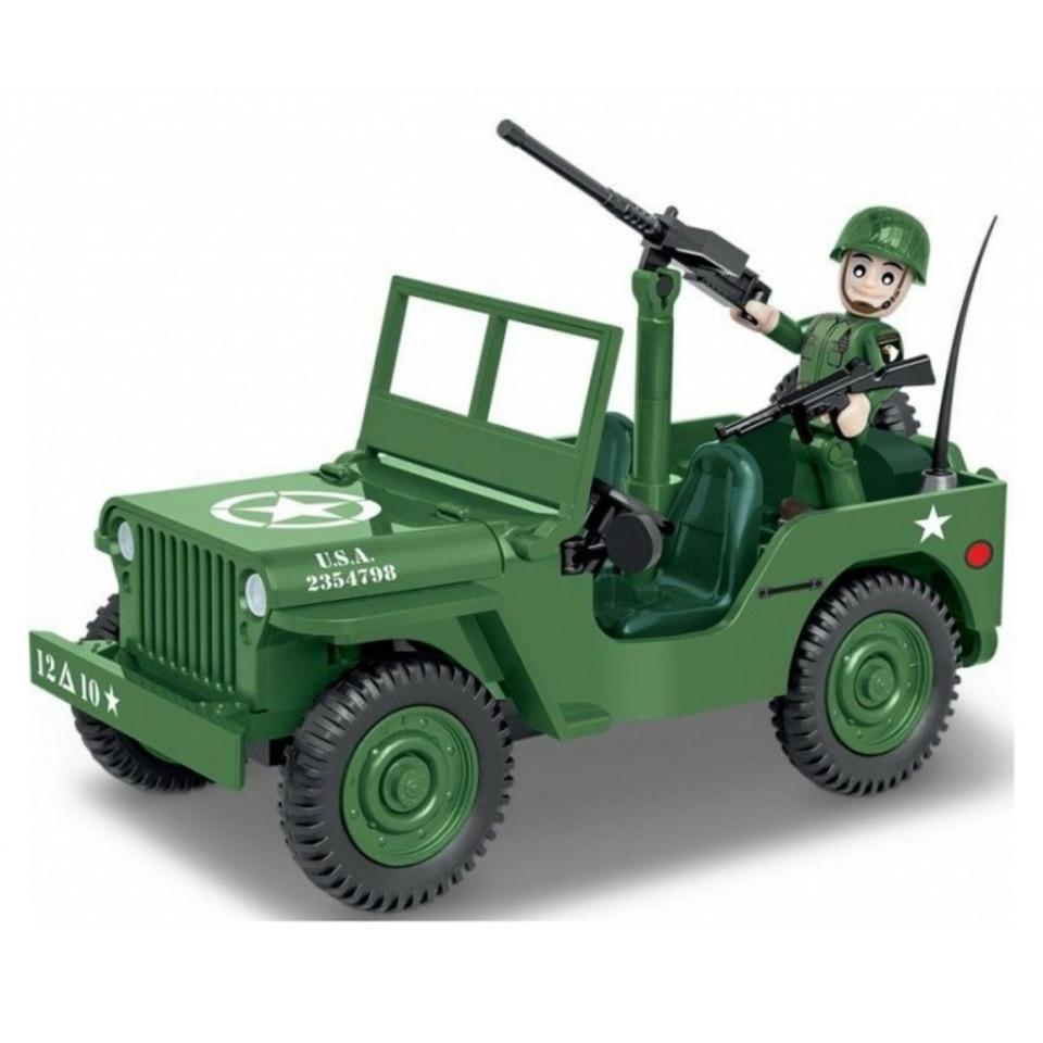 Obrázek 1 produktu Cobi 2399 World War II Americký terénní automobil Willys MB 1/4 tuna 4x4