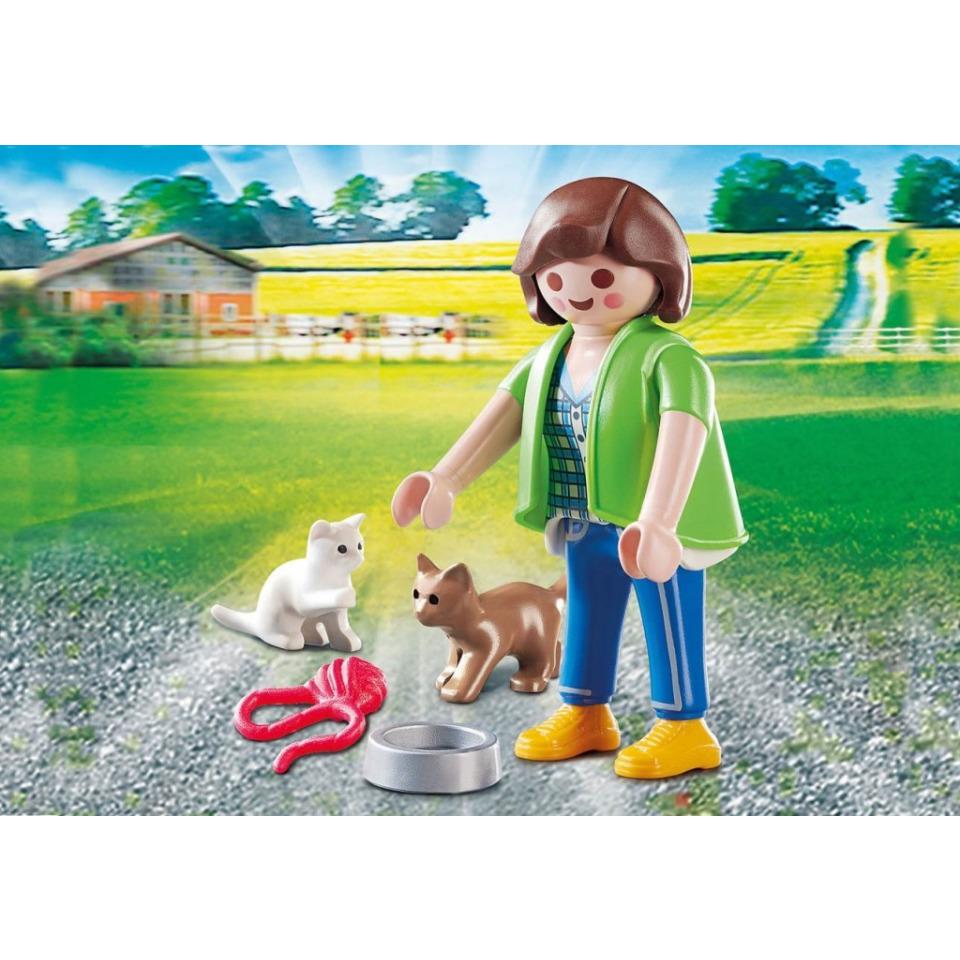 Obrázek 1 produktu Playmobil 70562 Chovatelka koček