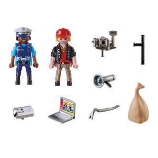 Obrázek 2 produktu Playmobil 70498 Starter Pack Policie