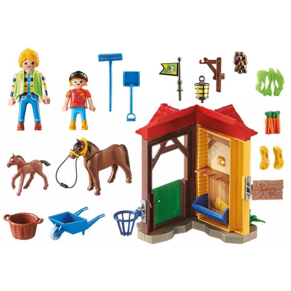 Obrázek 2 produktu Playmobil 70501 Starter Pack Koňská stáj