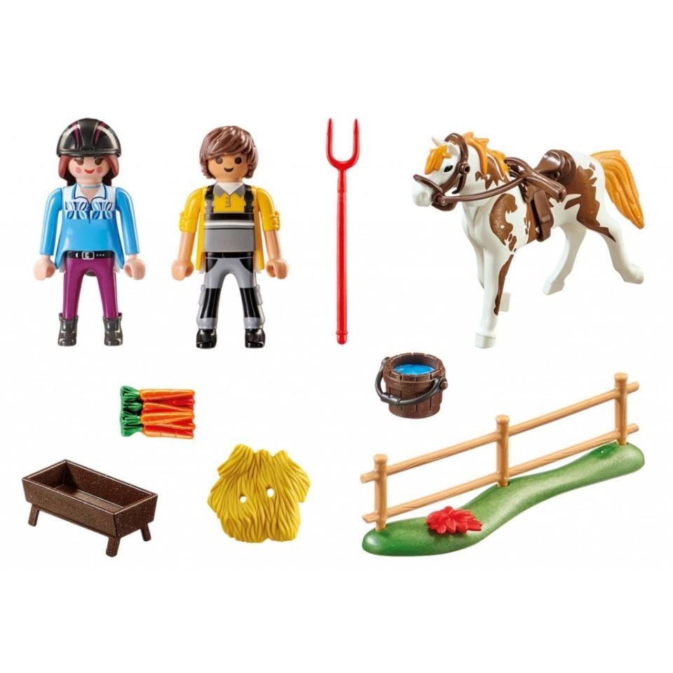 Obrázek 1 produktu Playmobil 70505 Starter Pack Koňská stáj doplňkový set
