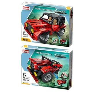 Obrázek 2 produktu Tech Bricks 8017 R/C Jeep 2v1, 333 dílků