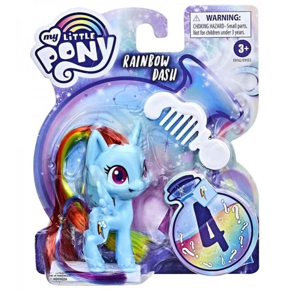 Obrázek 1 produktu MLP My Little Pony Poníci z lahvičky Rainbow Dash, Hasbro E9762