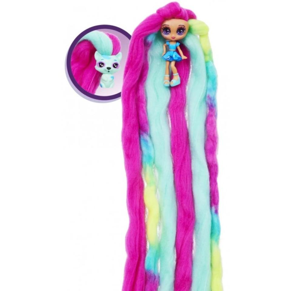 Obrázek 1 produktu CANDYLOCKS Voňavá panenka se zvířátkem Ocean Spray a Rickcoon