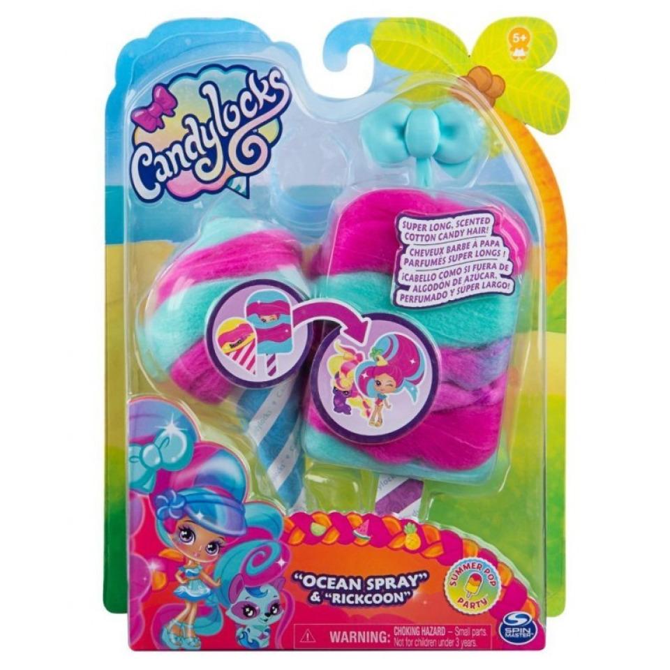 Obrázek 2 produktu CANDYLOCKS Voňavá panenka se zvířátkem Ocean Spray a Rickcoon