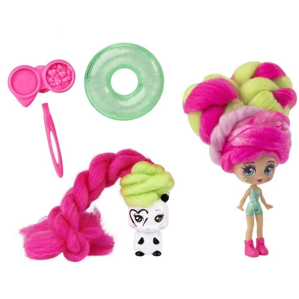 Obrázek 1 produktu CANDYLOCKS Voňavá panenka se zvířátkem Kiwi Kimmi a Hank Ster