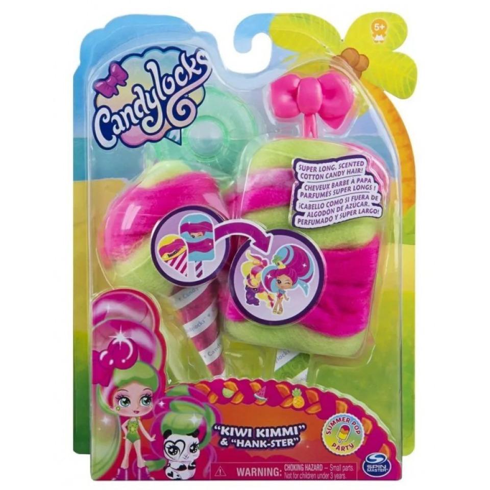 Obrázek 3 produktu CANDYLOCKS Voňavá panenka se zvířátkem Kiwi Kimmi a Hank Ster