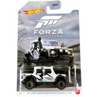 Obrázek 2 produktu Mattel Hot Wheels FORZA MOTORSPORT 15 Land Rover Defender double Cab, GJV67