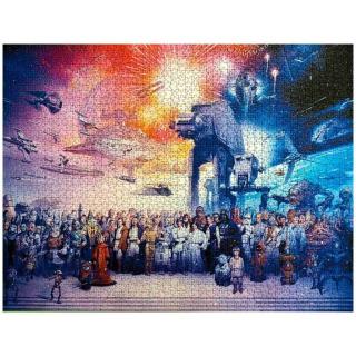 Obrázek 3 produktu Ravensburger 16701 Puzzle Star Wars Vesmír 2000 dílků