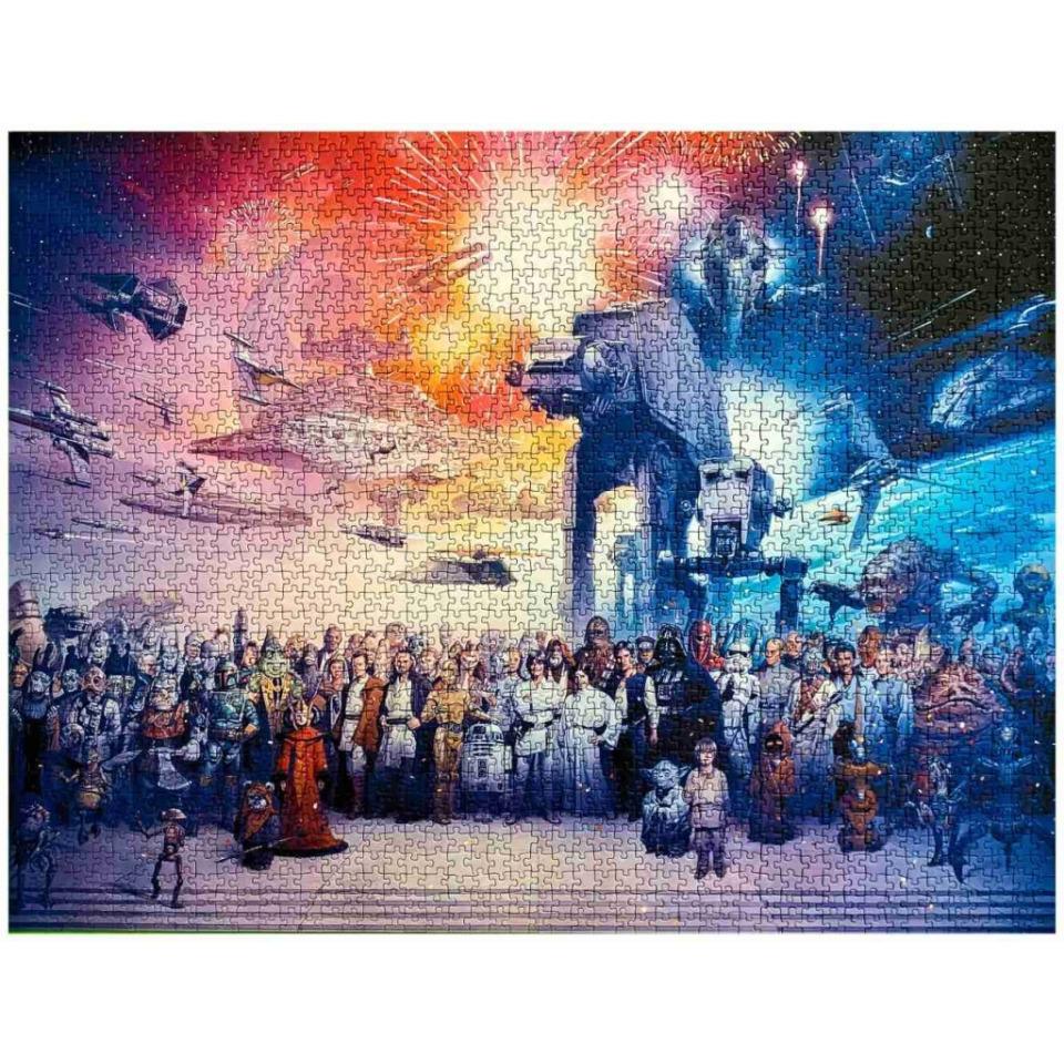 Obrázek 2 produktu Ravensburger 16701 Puzzle Star Wars Vesmír 2000 dílků
